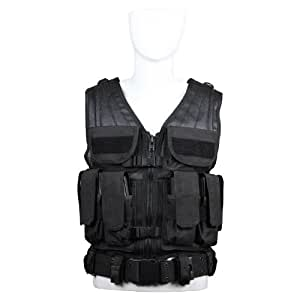 Amazon.com : Condor Elite Tactical Vest (Black) : Sports