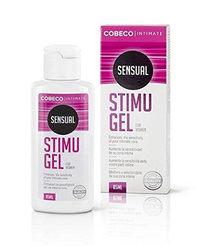 Cobeco Stimu Gel (85 ml) für die Klitoris stimuliert den Intimbereich der Frau