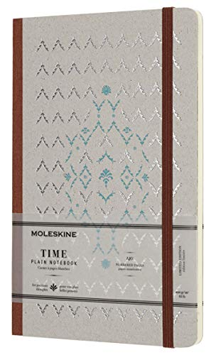 Moleskine Limited Collection Time Notebook, Hard Cover, Large (5 x 8.25) Plain/Blank