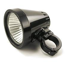 "Trail Tech 4412-DX-150 Black 1.50"" Clamp 40W Single SC4 4"" HID Frame Mount Light"