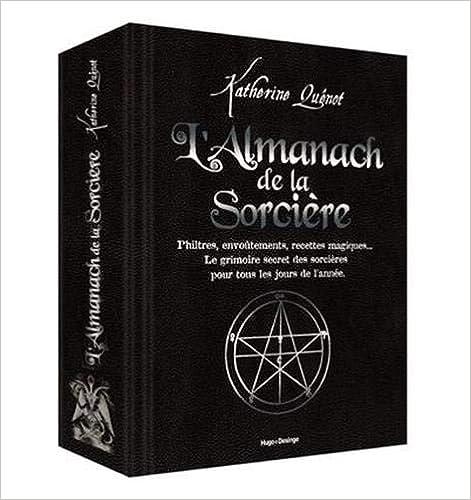 Book's Cover of L'almanach de la sorcière (Français) Relié – 17 octobre 2019