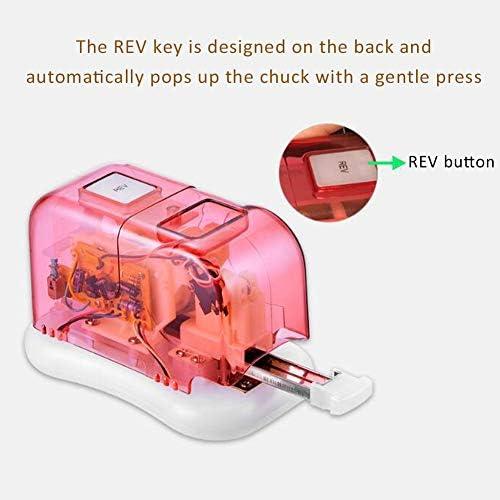 LYY Grapadora Eléctrica, Totalmente Automática De Papel Máquina De Encuadernación, De 10 A 15 Hojas De Capacidad, Uso 26/6 O 24/6 De Grapas, con Pilas O El Adaptador De CA (Incluido): Amazon.es: Hogar