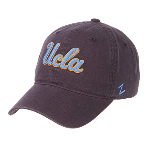 - Zephyr NCAA Mens Relaxed Fit Scholarship- Adjustable Cotton Crew Hat Cap-UCLA Bruins