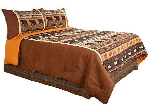 CROSCILL Caribou Comforter Set, Queen, ()