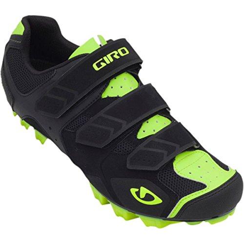 Zapatos Btt Giro Carbide Mountain Negro-Amarillo (Eu 41 / Us 8 , Negro)