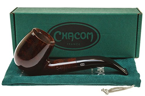 Chacom King Size 1202 KS Brilliant Tobacco Pipe - Large by Chacom