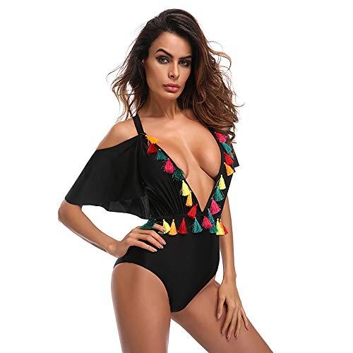 Con Moda Bagno Da 2018 Gaojuan Donna Petto Dry Nuova Elasticizzato Quick Elasticit Formato Costume Grande Backless Alta Bikini Spikes Intero q0ggPW