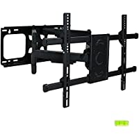 CASL Brands Full-Motion TV Wall Mount Bracket Set for 37-70 Inch Flat Screen Televisions
