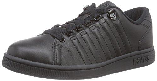 K-Swiss Lozan III - zapatilla deportiva de piel mujer negro - Schwarz (Black/Black/Black 024)