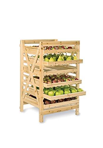 Orchard Rack, Garden Harvest Rack, 6 Drawer by Gardener's Supply Company (Image #3)
