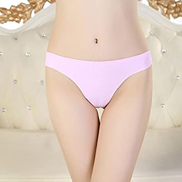 Ropa interior transparente de XBR _ Sexy Mujer Cintura hueca transparente Ropa interior?, F