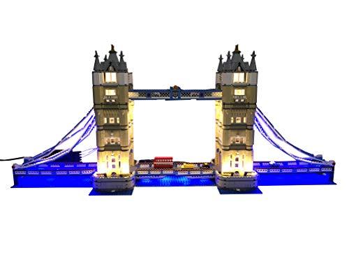 Brick Loot Lighting Kit for Your Lego Tower Bridge Set 10214