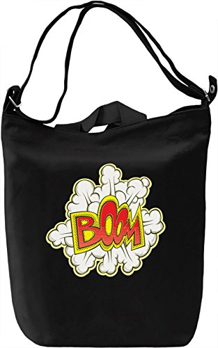 Boom Borsa Giornaliera Canvas Canvas Day Bag| 100% Premium Cotton Canvas| DTG Printing|