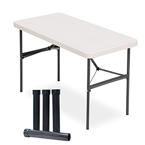 Lift Your Table folding table risers extenders STRAIGHT LEG KIT. Save Your Back
