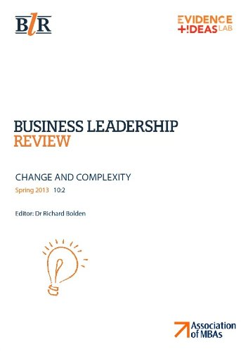 Business Leadership Review, Spring 2013