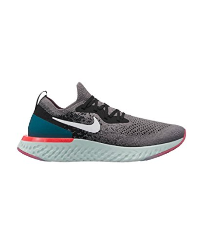 Geode Teal WMNS Chaussures Flyknit Multicolore Epic Compétition Nike Running Gunsmoke White 010 Femme React de Black wOz6dwxIWn