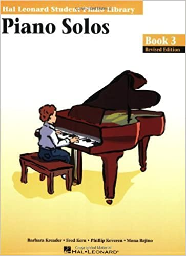 Piano Solos - Book 3: Hal Leonard Student Piano Library (May 1, 1996)