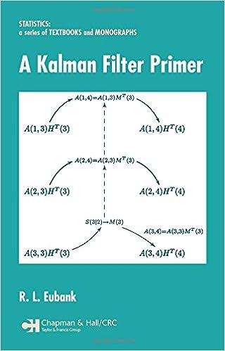 Amazon com: A Kalman Filter Primer (Statistics: A Series of