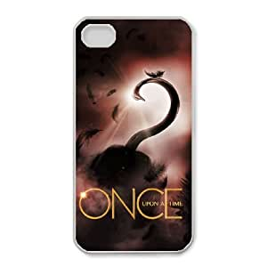 iPhone 4,4S Phone Case White Once upon a time KG4498043