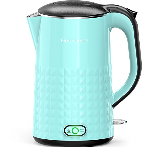 Elechomes CK1701 Smart Keep Warm Electric Kettle, 1.7L Stainless Steel Electric Tea Kettle, Blue