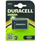 Duracell DRSBX1 Batterie pour Appareil Photo Sony NP-BX1 HX50V/DSC-HX50V/RX1 DSC-RX1 Noir