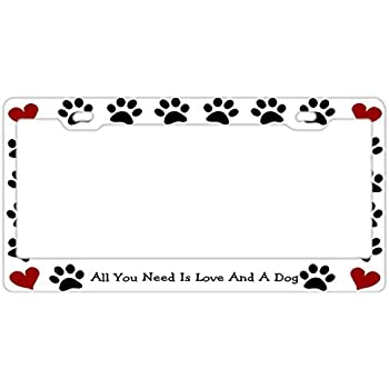 CAT MOM METAL NOVELTY LICENSE PLATE TAG FOR CARS ANIMAL LOVE PAWS PETS