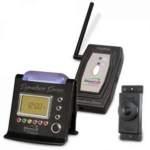 Signature Series Kit 3D with Telephone Transmitter and Wireless Doorbell
