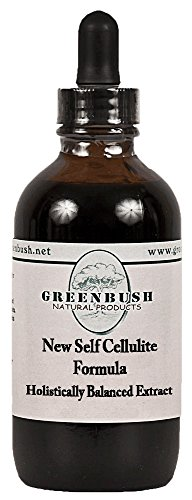 New Self Cellulite Concentrated Alcohol-free Extract with Gotu Kola. 240 Doses of 1/2 ml. Oral Formula with the Top Herbs for Stopping Cellulite and Promoting Younger Looking Skin