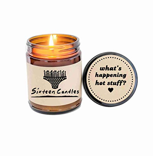Sixteen Candles Gift Birthday Cake Scented Candle Jake Ryan I Love The 80s Gift 80s Movie Quotes (Uno Cards Jake)