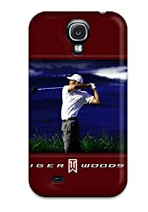 First-class Case Cover For Galaxy S4 Dual Protection Cover Tiger Woods