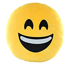 Emoji Smiley Emoticon Cushion Pillow Happy Face
