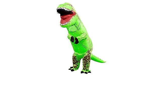 prettygood7 Disfraz de Dinosaurio Inflable T Rex para niños ...