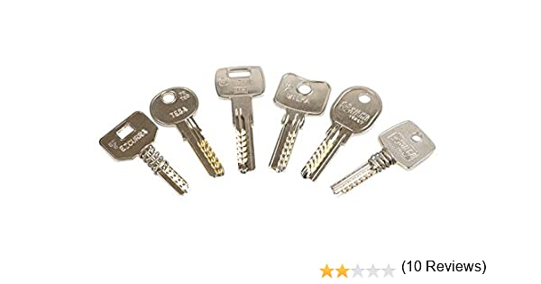 Kit de llaves bumping Bump-Keys para cerraduras de seguridad, multipuntos, planas, blindadas, Garantizadas Fabricante GanzuasBumping (Kit Nº1-16 ...