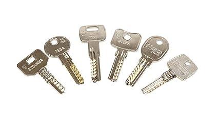 Kit de llaves bumping Bump-Keys para cerraduras de seguridad, multipuntos, planas,