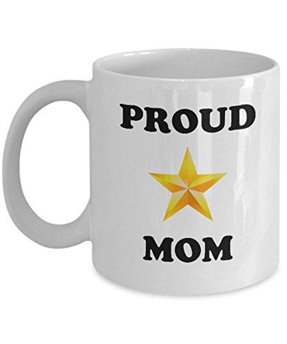 Proud Gold Star Mom Mug - Military Coffee Mug (Navy Deployment Care Package Ideas)