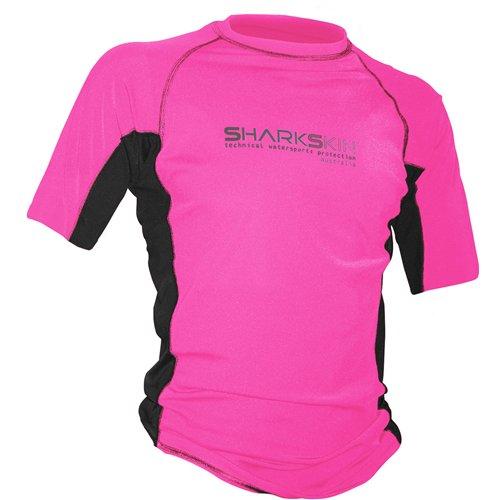 Sharkskin Rapid Dry半袖シャツ B00KFW99G4 ピンク Medium Medium ピンク