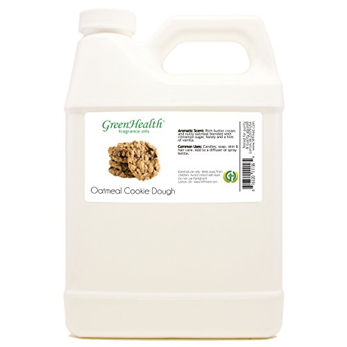 Cookie Jug (32 fl oz Oatmeal Cookie Dough Fragrance Oil (Plastic Jug w/ Cap) - GreenHealth)