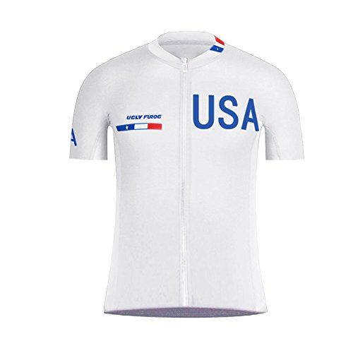 Uglyfrog Sportern 3 Stripes Outdoor Sportwear Short Sleeve Cycling Jersey Cycling Clothing Bike Wear