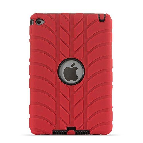 Blue apple ipad mini tablet
