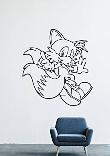 Sonic the Hedgehog Wall Decals Decor Vinyl Stickers -