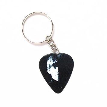 Beatles púa de guitarra Llavero Anillo de música Rock George ...