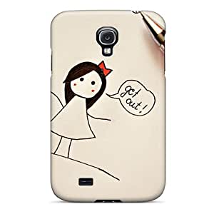 Tpu Case Cover Compatible For Galaxy S4/ Hot Case/ Get Out Of My Heart