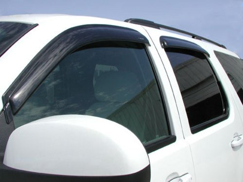 Price comparison product image Stampede 6066-2 Tape-Onz Sidewind Deflector for Chevrolet / GMC 4-Door (Smoke)