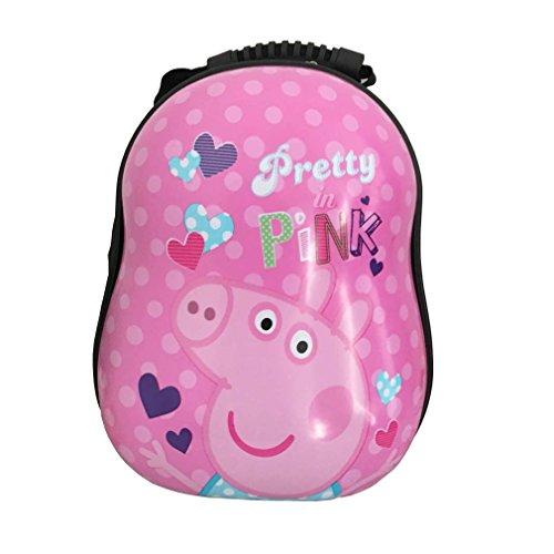 12770077c998 Bingole Kids Super Cute 3D Animal Printed Hard Shell School Bags Eggshell  Backpack (Peppa Pig) - Buy Online in Oman.
