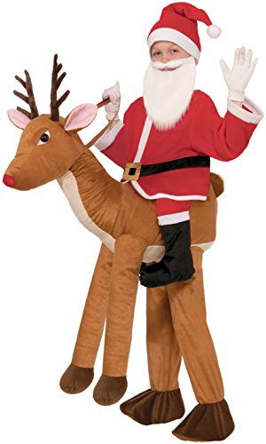 Forum Novelties Santa-Ride-A-Reindeer Child Costume (El Nino Christmas)