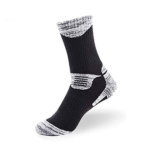(MAIBU 1 OR 3 Pairs Wicking Cushion Outdoor Hiking Walking Athletic Socks )