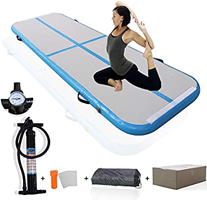 Amazon.com: KEMAX - Alfombrilla hinchable para yoga con ...