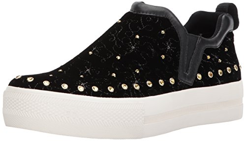 Ash Women's Jetset Sneaker, Black, 37 Medium EU (7 US) ()