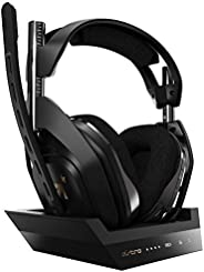 ASTRO Gaming A50 Wireless Headset + Base Station Gen 4 - Compatible with Xbox Series X|S, Xbox One, PC, Mac -