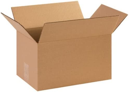 Aviditi 1498 Corrugated Box 14 Length x 9 Width x 8 Height Kraft (Bundle of 25) [並行輸入品]